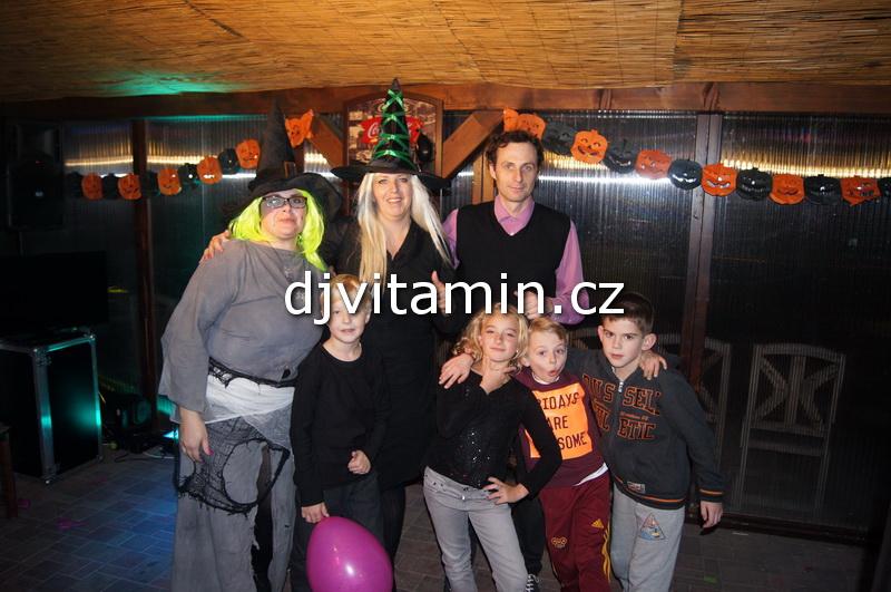 Halloweenská dětská párty