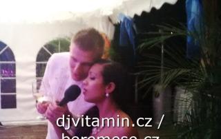 Hudba, moderování, zábava na mezinárodní svatbě na lodi Golf Yacht Praha / Green Yacht Hotel.