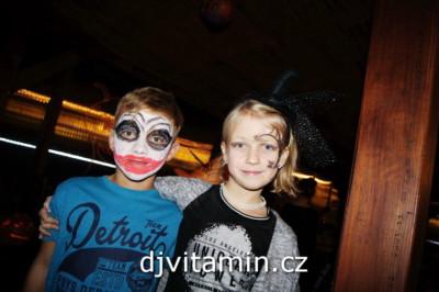 Halloweenská párty, akce pro děti, Hotel Annín
