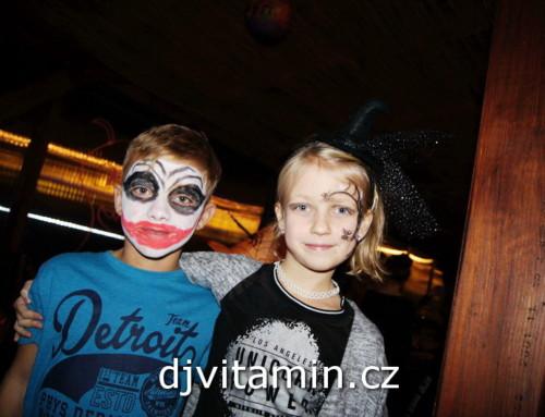 Halloweenská párty, akce pro děti, Hotel Annín – 2017